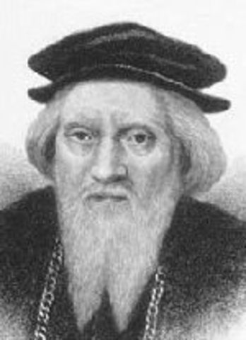 John Cabot claims North America for England