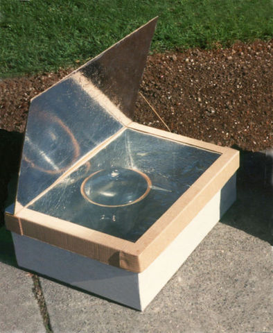 solar food cooker