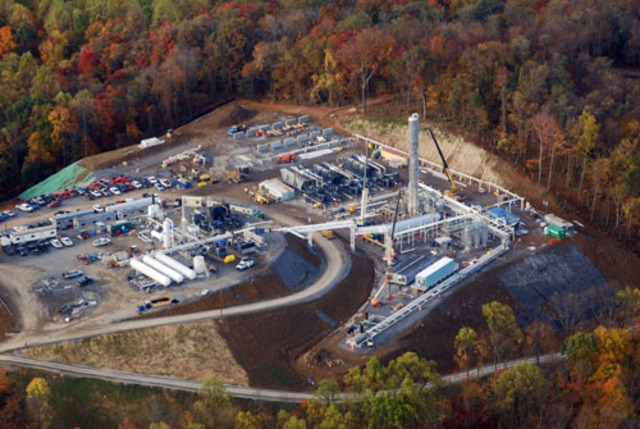 The first liquified natural gas plant opens in West Virginia