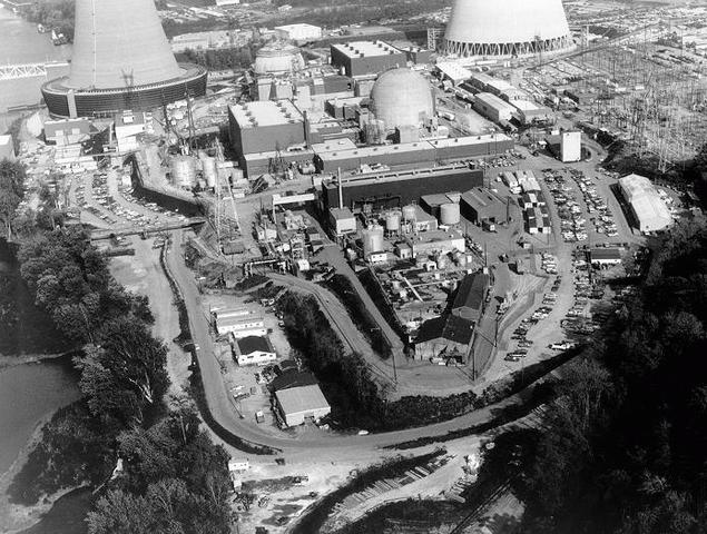 The world's first commercial nuclear power plant opens in Shippingport, Pennslyvania