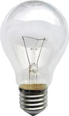After many experiments, Thomas Edison invented an incandescent light bulb that could be used for about 40 hours without burning out. By 1880 his bulbs could be used for 1200 hours.