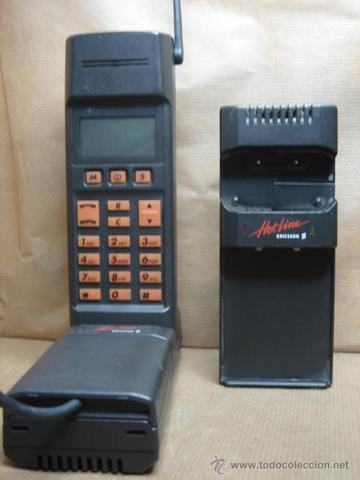 Primer teléfono móvil en mi familia