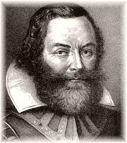 Captain John Smith explorer and founder of Jamestown