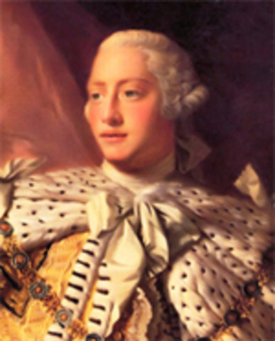 Proclamation of 1763 by King George III