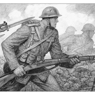 Première guerre mondial au front timeline