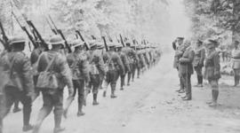 Première Guerre Mondiale en Canada timeline