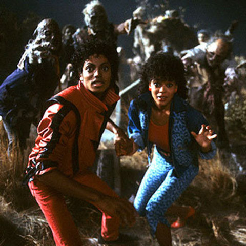 Michael Jackson- Thriller  video released