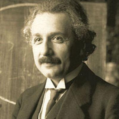 Vida y trabajo de Albert Einstein timeline