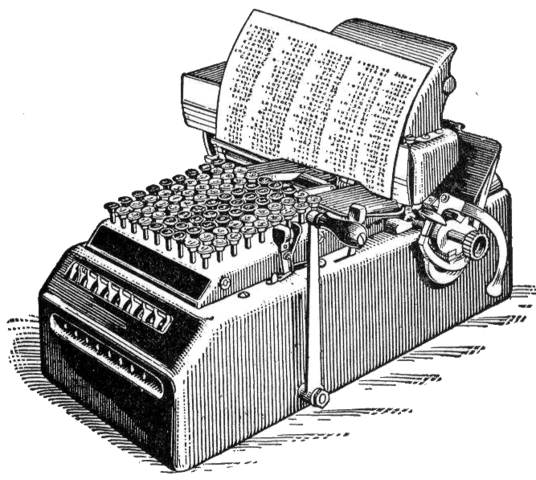 calculadora electromecánica universal