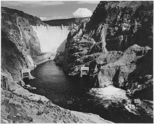THe Hoover Dam Opened