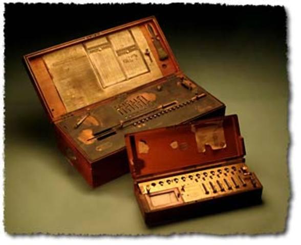 Se fabrica en serie un calculador multiplicador más pequeño que el Arithmometer.