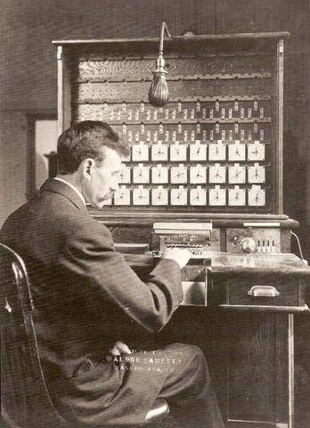 La máquina de Hollerith facilita el conteo del censo en Estados Unidos