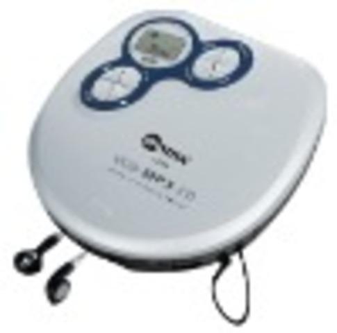 Mi primer reproductor de CD portable