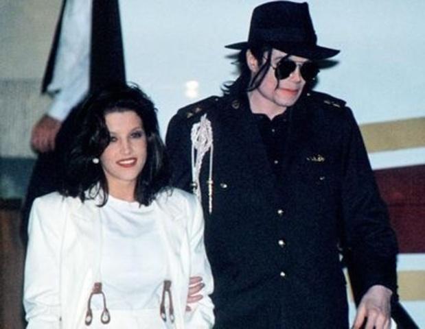 Matrimonio con Lisa Presley