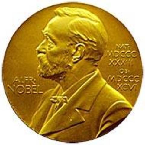 Selma Lagerlöf får nobelpriset i litteratur