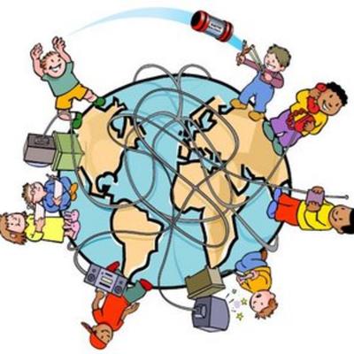 La evolución de la tecnología de la información y la comunicación (TIC). timeline