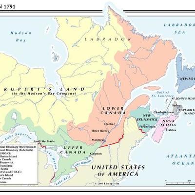 Canadian History, British North America (1759-1867) timeline