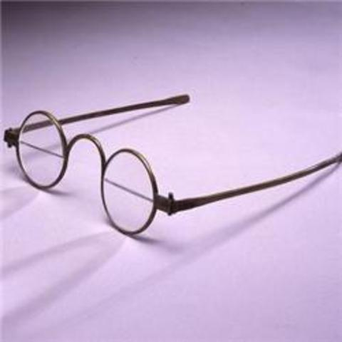 Bifocals are Invented for Glasses by Benjamin Franklin