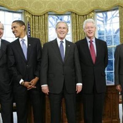 Presidentes de EE.UU desde 1953-2011 timeline