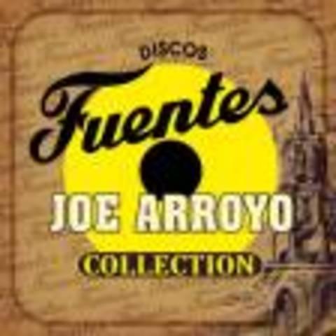 firma del Joe Arroyo con discos fuentes