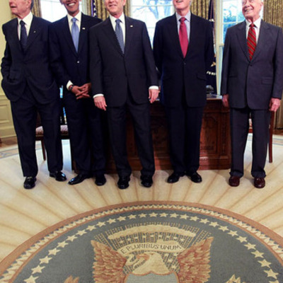 5 ultimos presidentes de U.S.A timeline