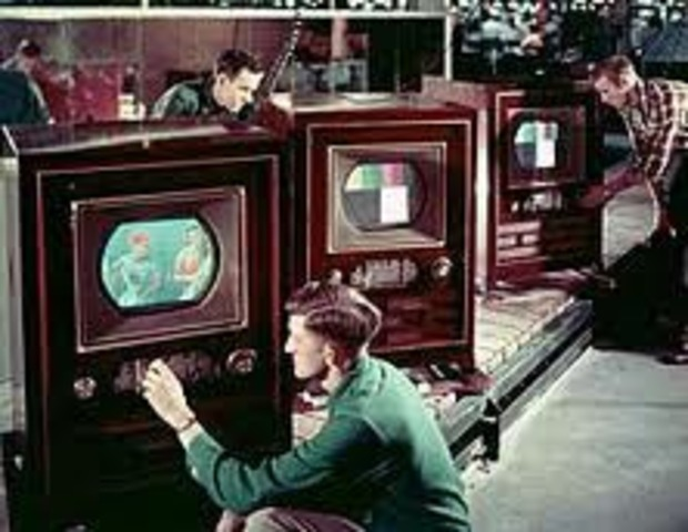 First Color TV