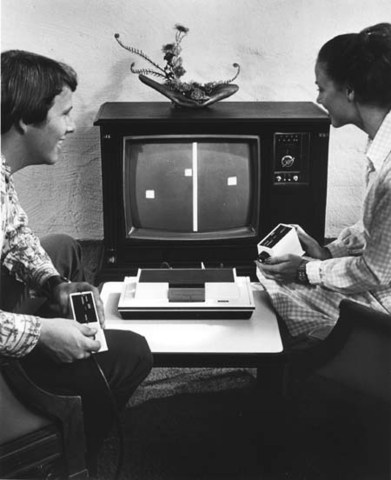 Pong invented