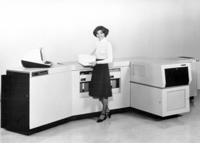 First Laser Printer is Invented