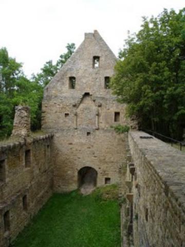 Hildegard joins in the Disibodenberg monastery.