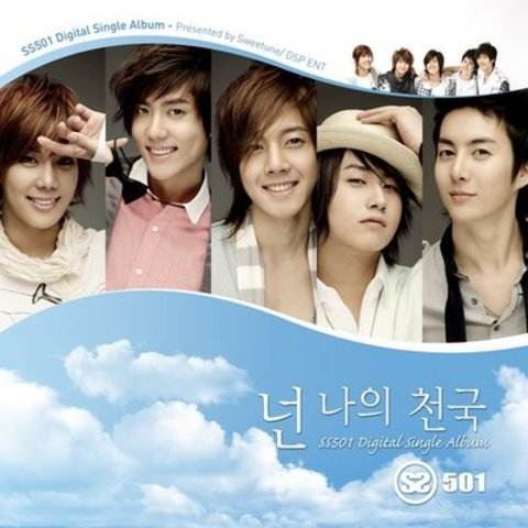 SS501 korean boy band