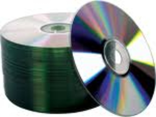 Compact Discs are massed produced