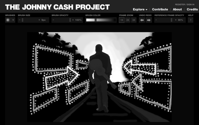 The Johnny Cash Project.