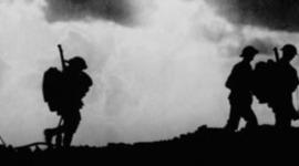 Première Guerre Mondiale au font timeline