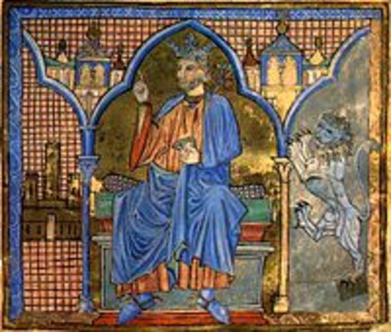 the death of his father, Fernando III El Santo