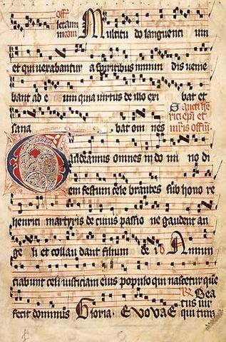 Philippe de Vitry wrote Ars Nova.