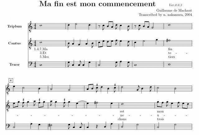 Philippe de Vitry began to compose motets isorhythmics