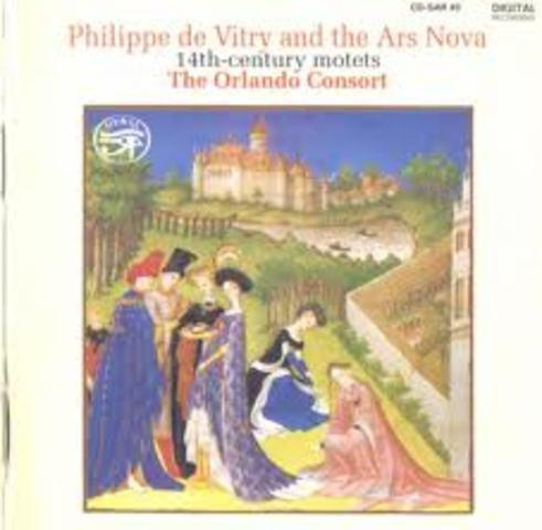 Deutsche Harmonia Mundi publics : Philippe de Vitry and the Ars Nova.