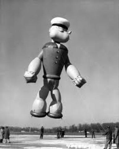 Popeye Runs Away