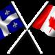 1 canada quebec flag