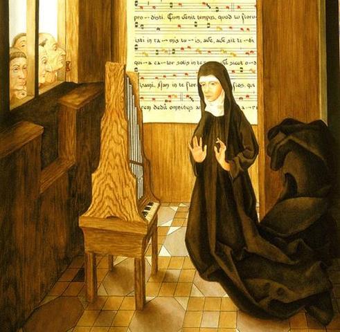 Hildegard writes Ordo Vitorum