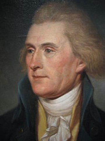 Thomas Jefferson, 1801-1809