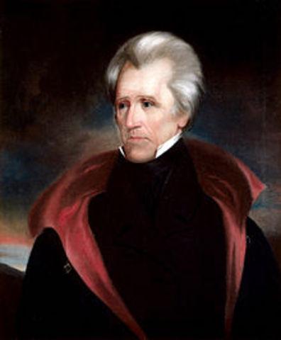 Andrew Jackson, 1829-1837