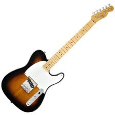 """The Fender Esquire guitar is released; it is the first """"mass-produced, solid body electric guitar"""""""