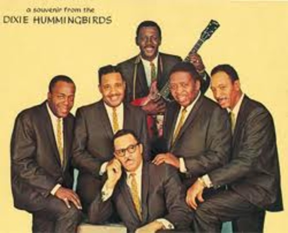 """The Dixie Hummingbirds' """"Let's Go Out to the Programs"""" becomes a major hit, their signature song and a classic piece of gospel."""