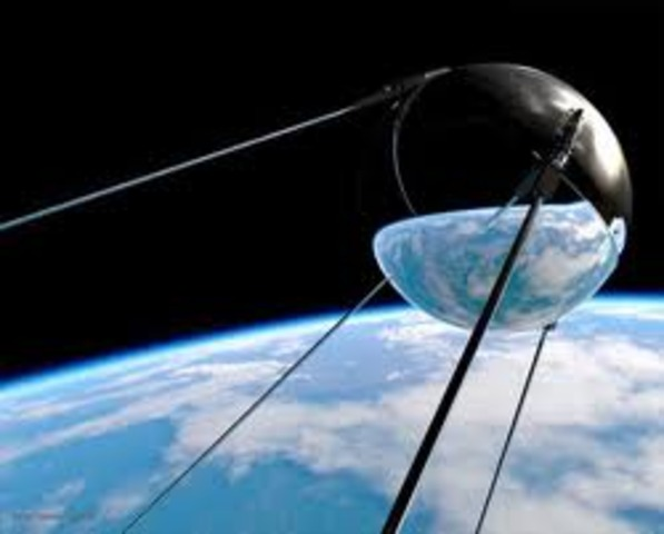 Sputnik I and Sputnik II: Sputnik I and Sputnik II are launched by the Russians