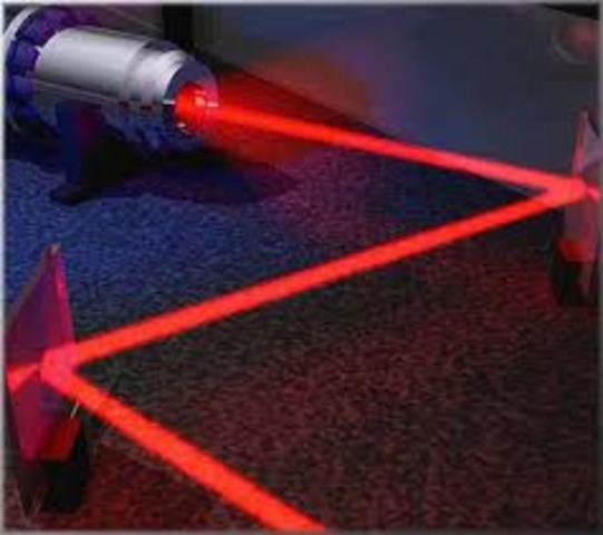 Laser invented by Theodore Harold Maiman