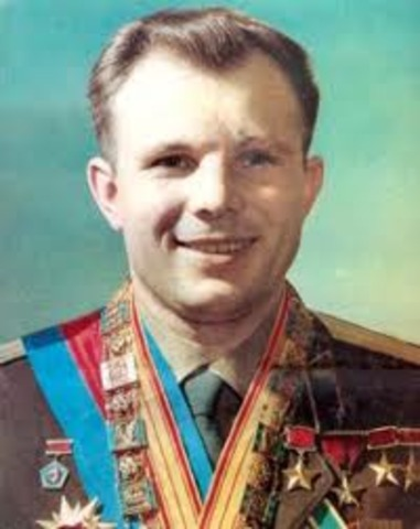 Uri Gagarin is the first man in space