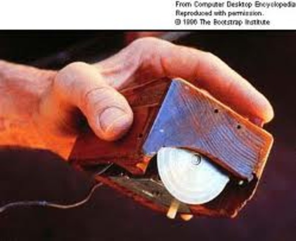 Computer mouse invented by  Douglas Engelbart