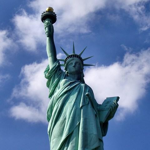 Statue of Liberty dedicated