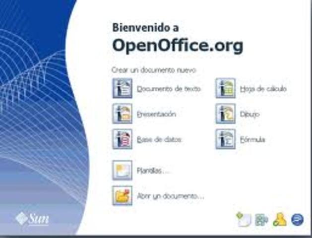 Adquieren a StarOffice y lo llamán OpenOffice.org